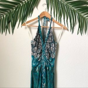 Sky colorful maxi